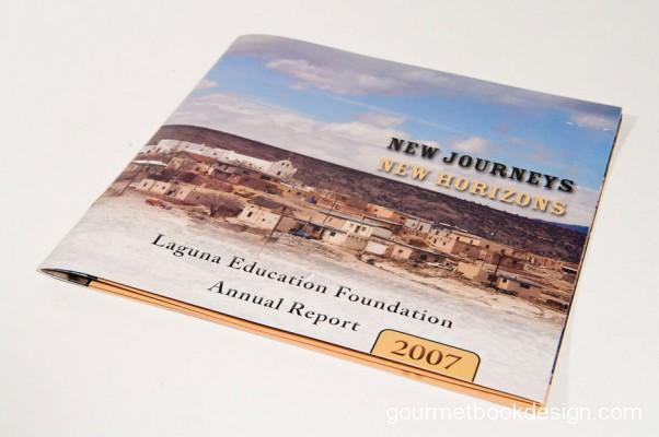 image of front cover of Laguna Education Foundation 2007 Annual Report