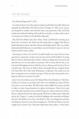 First page page of content from Jim Ciccarello's Coach, Coach, Look at Me!