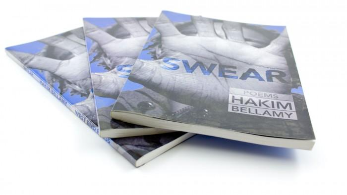 SWEAR, poems by Hakim Bellamy: front cover