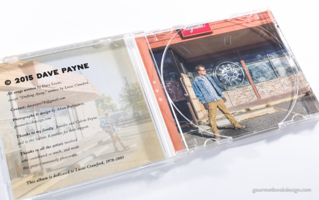 Dave Payne Will Not Admit Defeat: Jewel case open, no CD